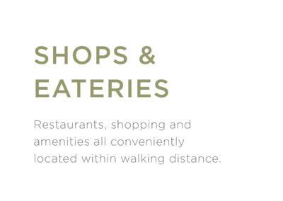 Shops-Eateries